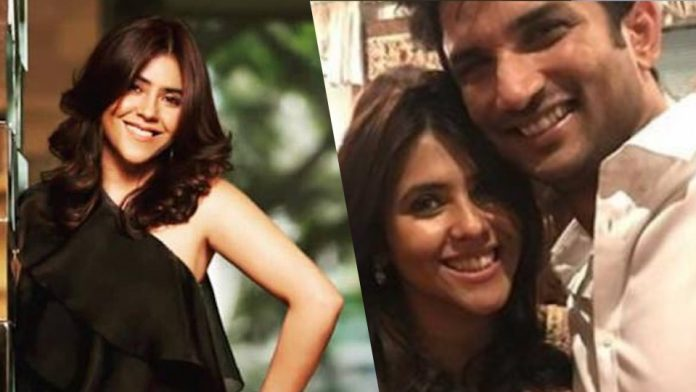 'Give yourself for time to worry'; Ekta Kapoor on the allegations following Sushant's death