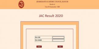 JAC 9th Result 2020 Live Updates