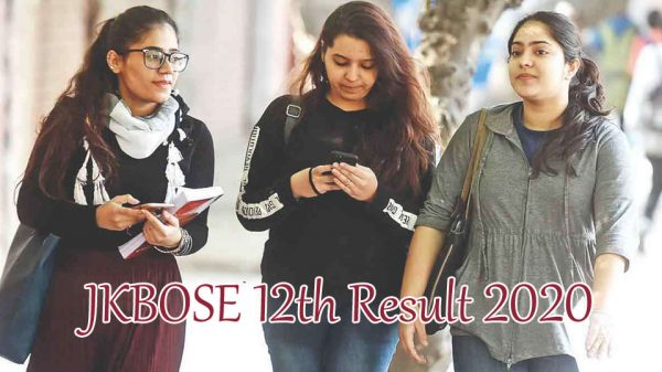 JKBOSE 12th Result 2020