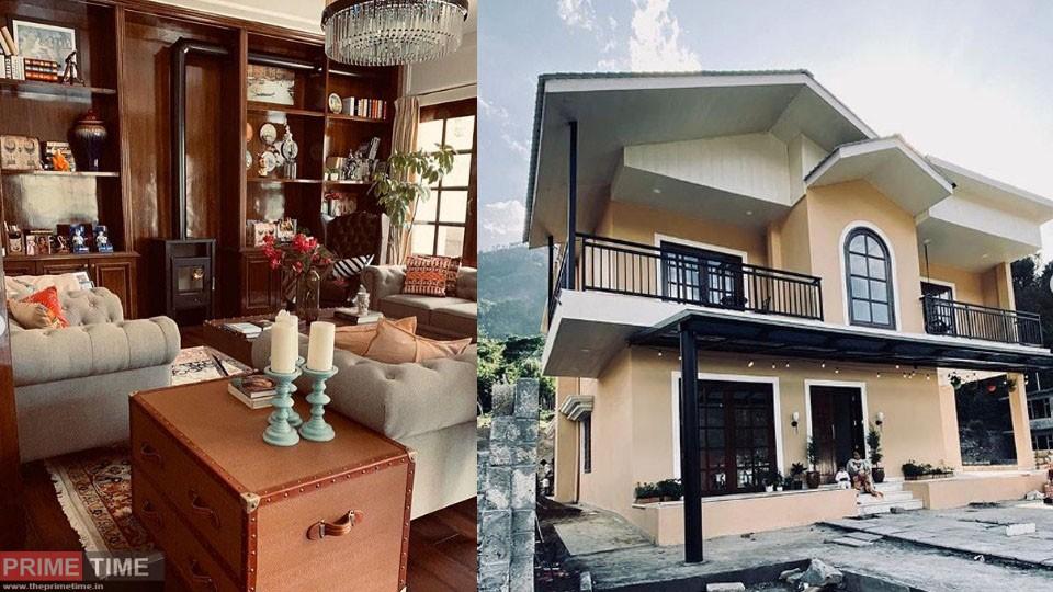 Kangana's sister Rangoli built a house in the beautiful Himalayan plains, see photos inside