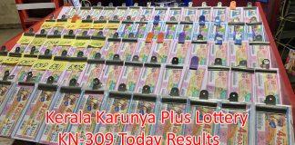 Kerala Karunya Plus Lottery Results Today