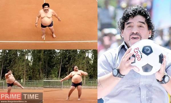 Maradona Fat Images