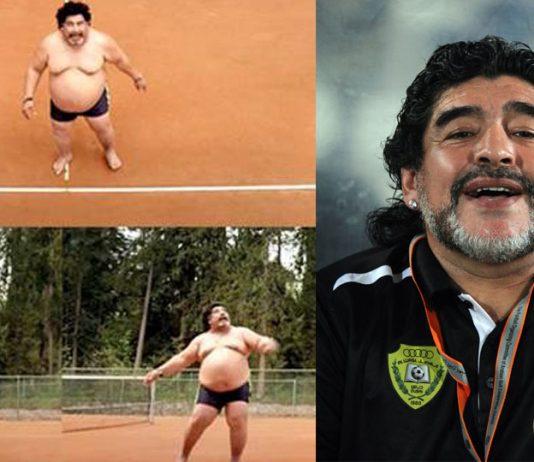 Oh My God, Is it Maradona So fat, Video Went Viral!