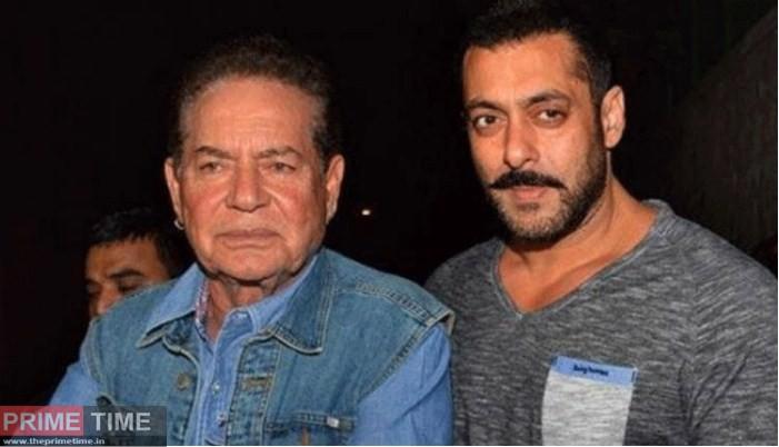 Salman Khan and Father