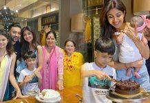 Shilpa Shetty celebrates birthday with family, photos is viral