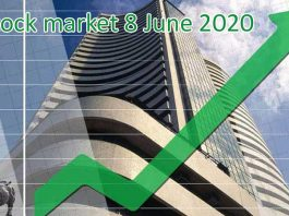Stock market 8 June 2020 Stock market boom, Sensex stronger than 550 point