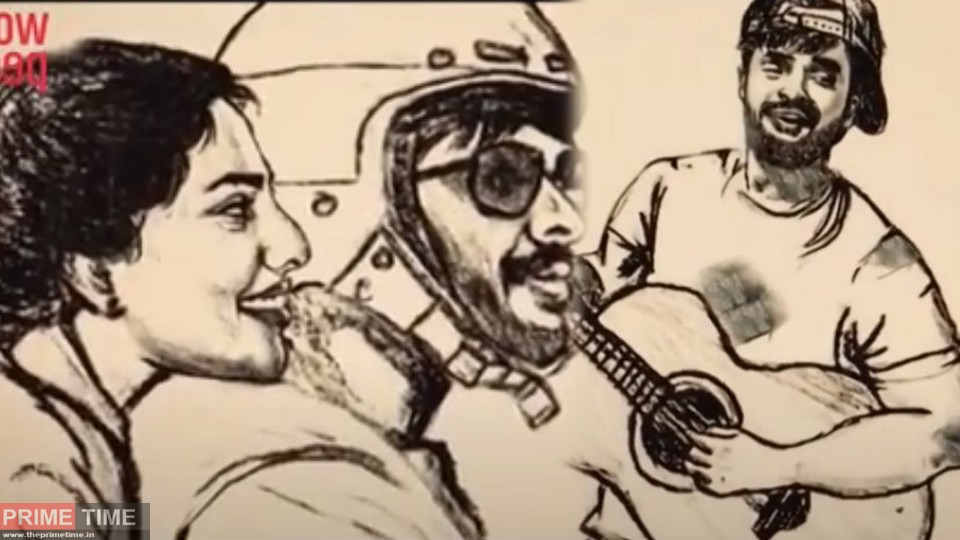 Woodpecker Media's Cartoon Video song of Tovino and Aishwarya's Viral on Social Media