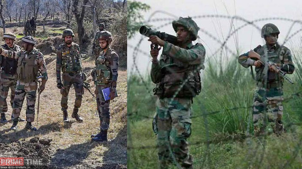 Indian army destroyed Pakistani mortar in Poonch