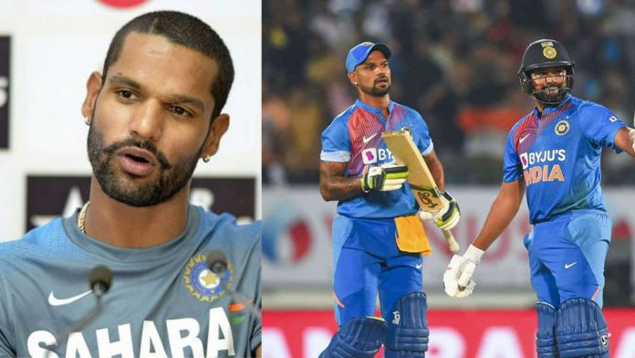 Why pairing with Rohit Sharma is a hit, Shikhar Dhawan himself told