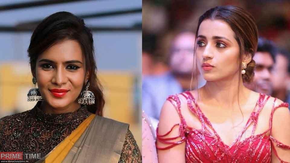 Meera Mithun twitts against Trisha Krishnan!