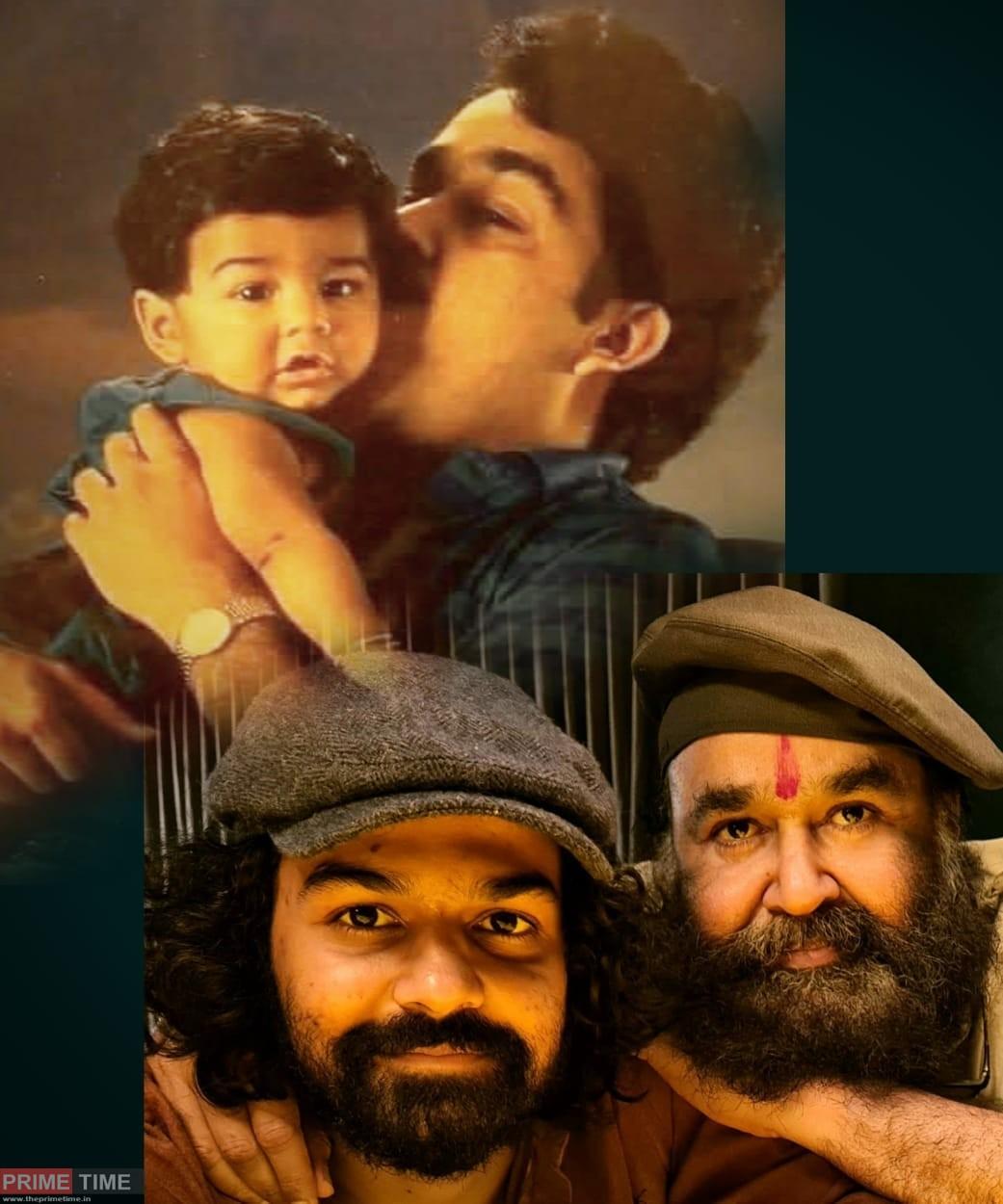 Mohanlal's post about Pranav's Birthday