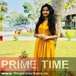 Navani Devanand in Yellow Dress