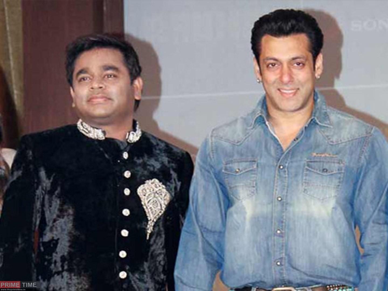 Salman Khan and AR Rahman Images