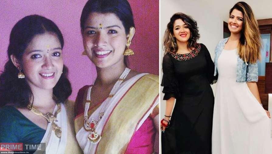 Amritha Suresh and Abhirami Suresh Images