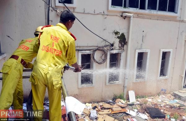 Fire at Secreteriat, Thiruvananthapuram
