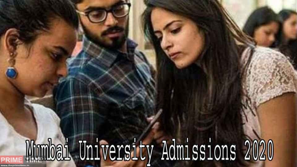 Mumbai University Admissions 2020