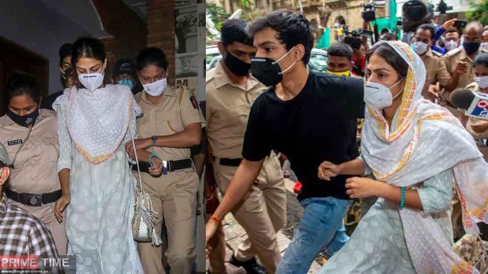 Rhea Chakraborty questioned by CBI