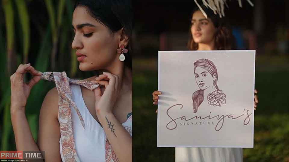Welcome to those who love fashion and novelty in clothing; Saniya Iyappan with online clothing business