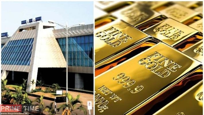 Gold was also seized in Karipur on Saturday
