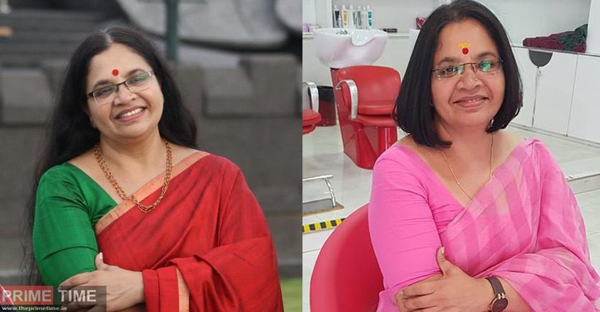 Fefka supporting Bhagyalekshmi