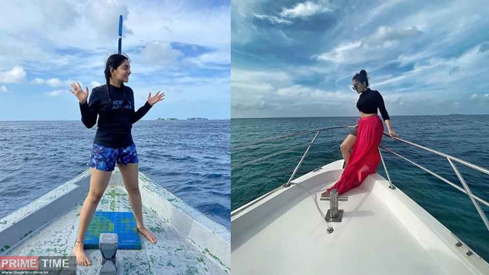 Ahaana about her first experience in scuba diving