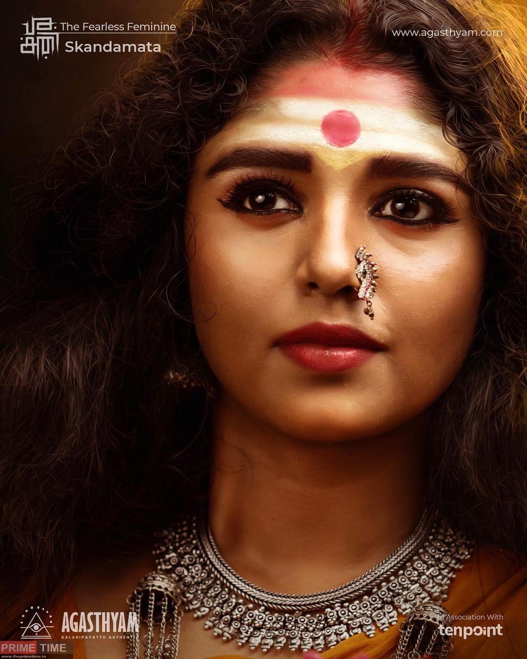 Amala with her Skandamatha avatar