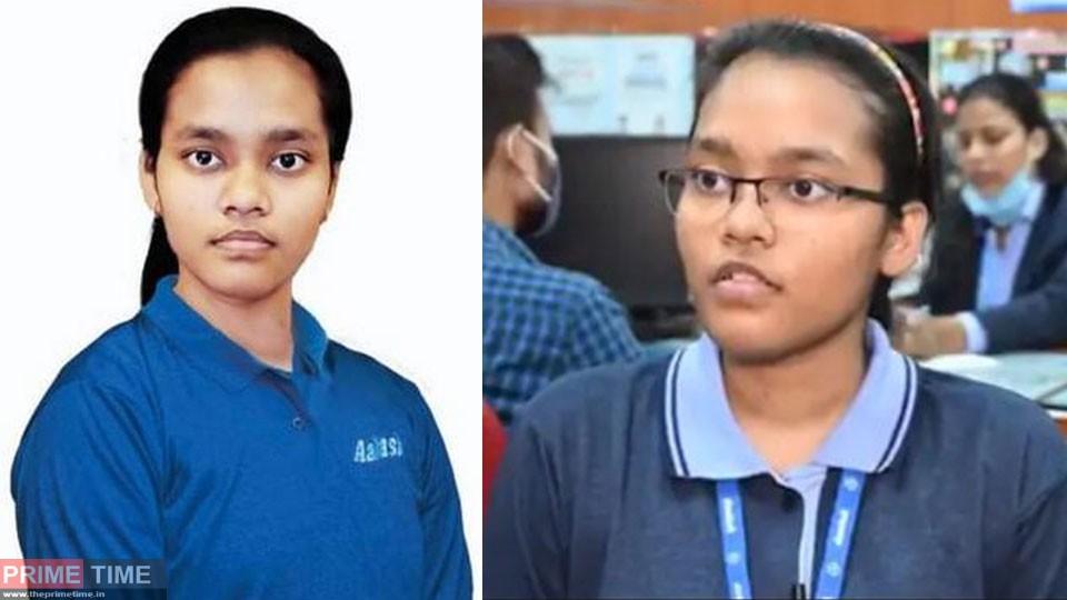 Neet Exam winner Akansha Singh
