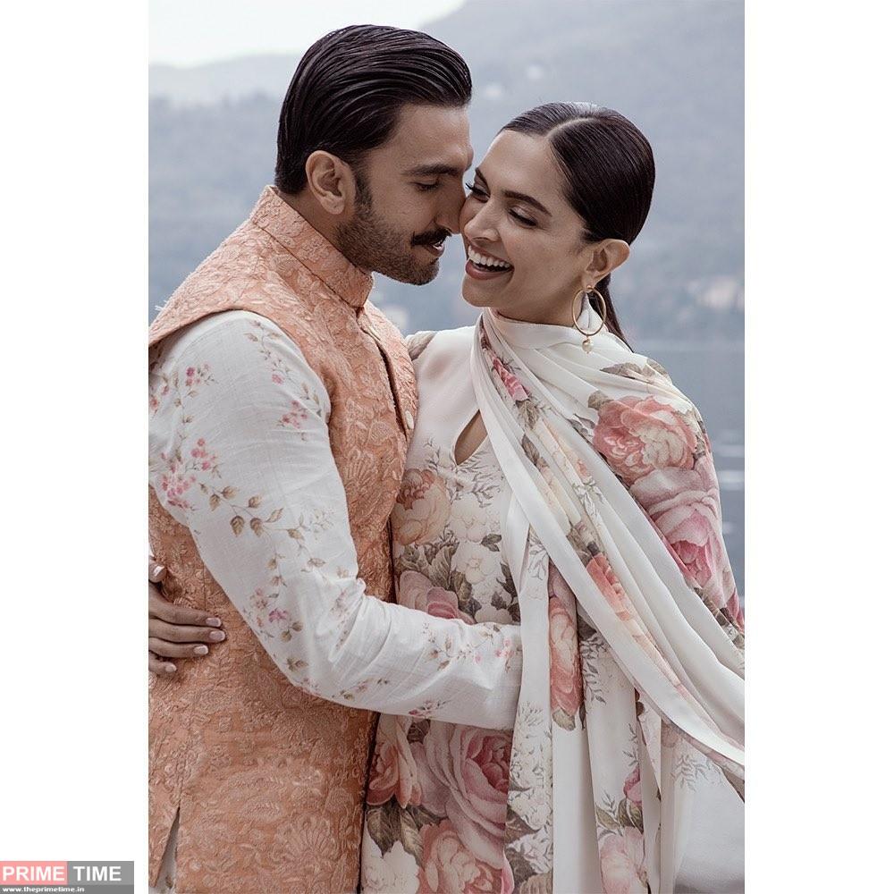 Ranveer Singh wishes Deepika Padukone on marriage anniversary