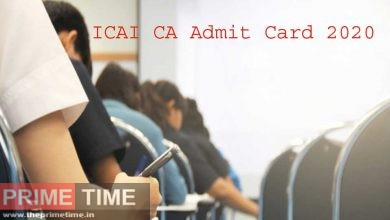 ICAI CA Admit Card 2020