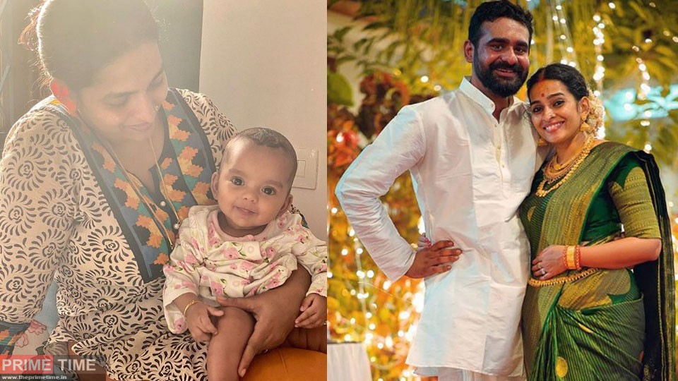 Siddharth Bharathan introduced daughter