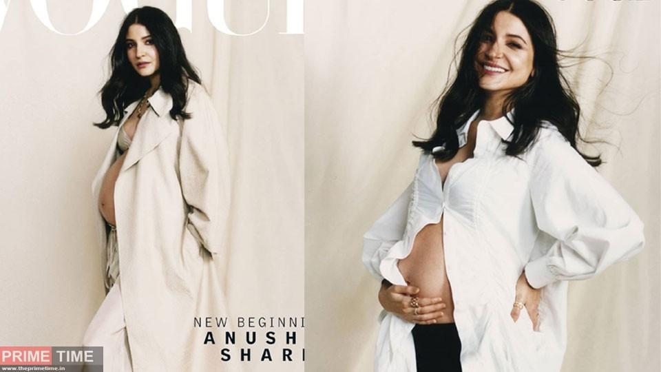 Anushka Sharma stylish Maternity Photoshoot