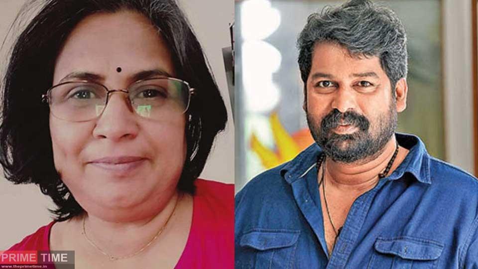 Joju George helps Ambika Rao