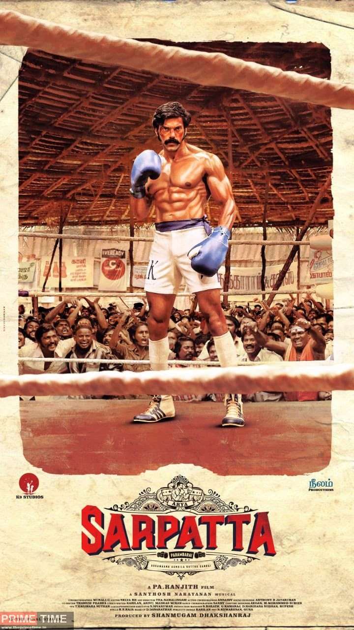 Arya looks stunning as a boxer; First look of 'Sarpatta ...