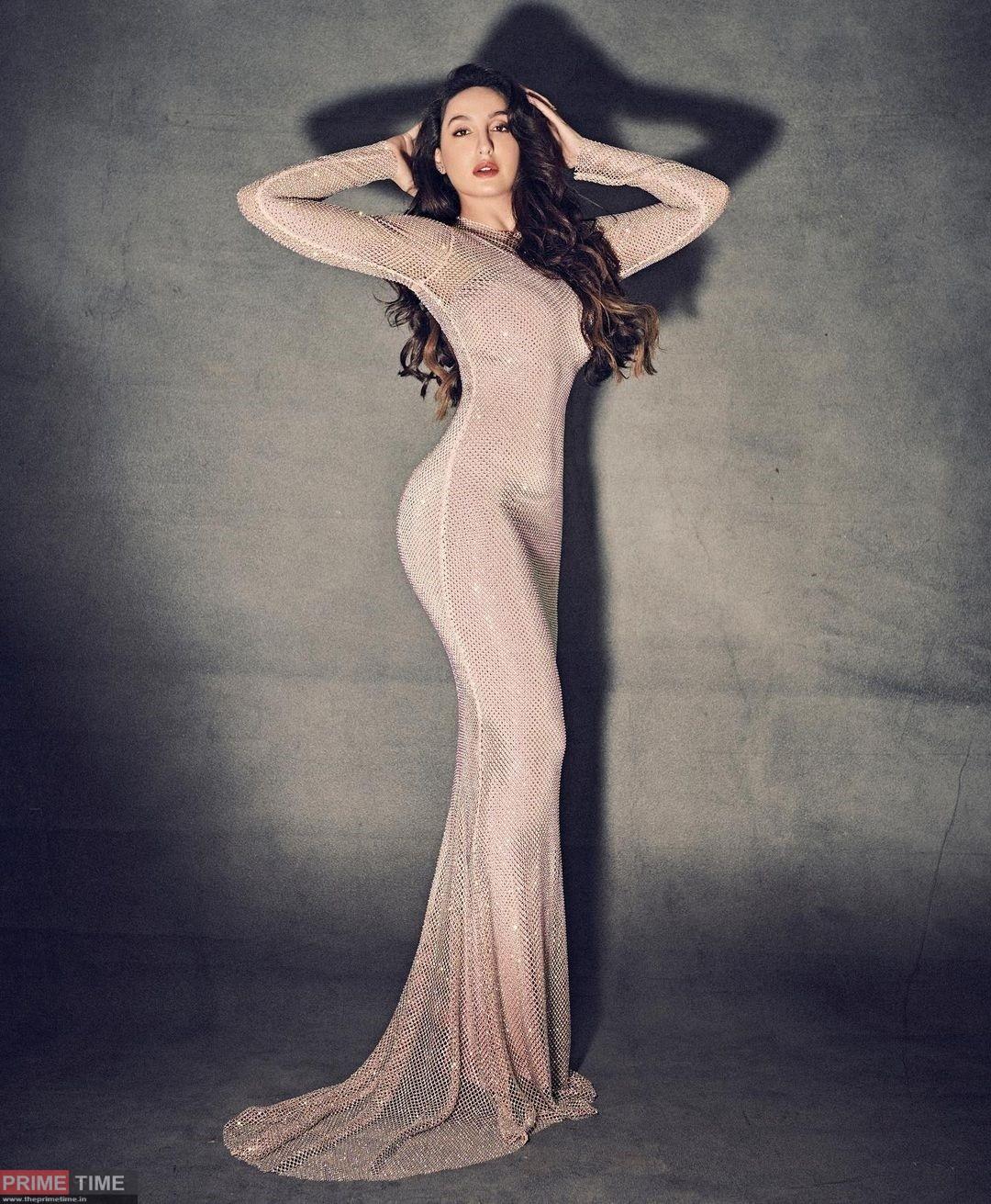 Nora Fatehi gets a stylish photoshoot