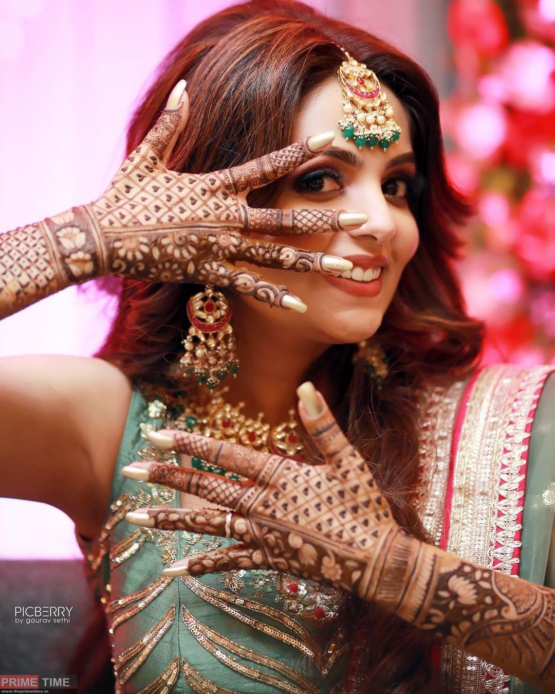 Sugandha Mishra and Sanket Bhosale got married