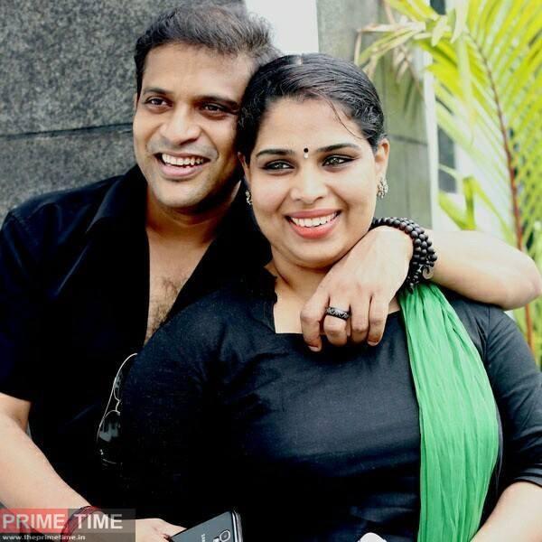 Actor Kuttikal Jayachandran n wife