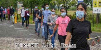 NIMCET 2021 Exam