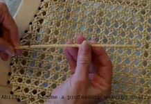 Ability to become a professor, weaving chairs