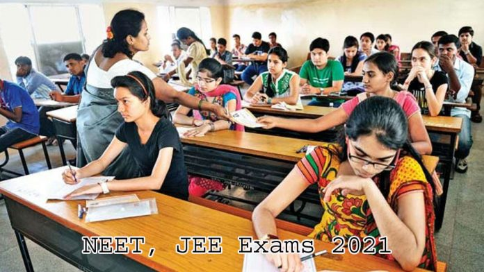 NEET, JEE Exams 2021