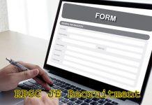 RPSC JE Recruitment