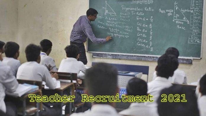Teacher Recruitment 2021