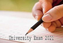 University Exam 2021