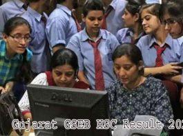 Gujarat GSEB HSC Result 2021