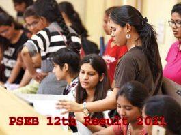 PSEB 12th Result 2021