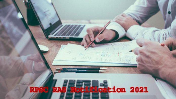 RPSC RAS Notification 2021