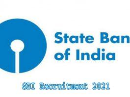 SBI Recruitment 2021