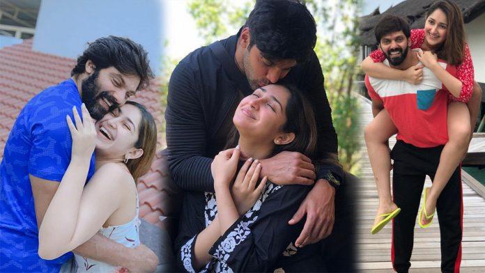 Star couple Arya and Sayyeshaa blessed with baby