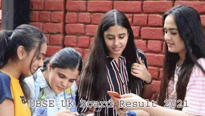 UBSE UK Board Result 2021