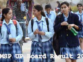 UPMSP UP Board Result 2021
