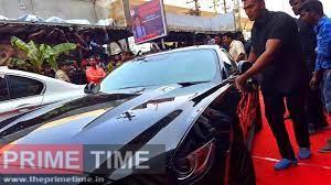 vijay bmw car